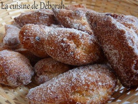 Les Schangalas, Beignets de Carnaval Alsaciens   Cuisine de Deborah