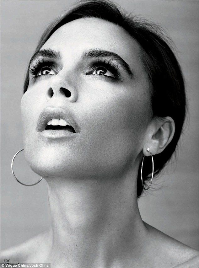 "Victoria Beckham for August 2013 edition of ""Vogue China"""