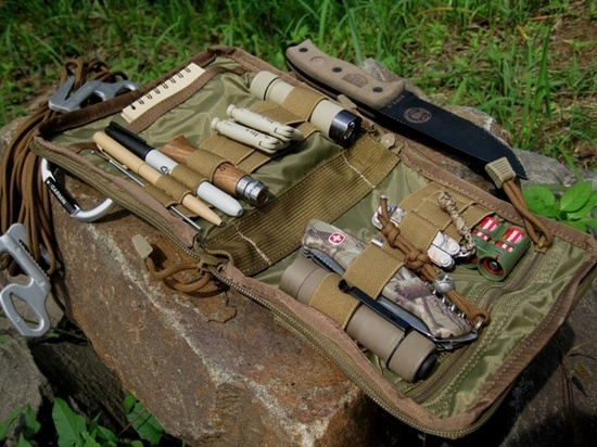 """The MaxPedition Padded Pouch measures 6""""x6"""" and is great for organizing your tactical EDC gear. 