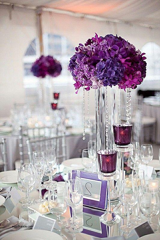 Vases Design Gold Vase Plum Unique Tischdeko Zur Hochzeit In Lila
