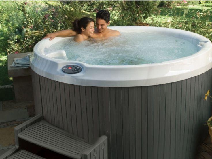 Round #Jacuzzi Ronde #Spa #Bubbelbad Jacuzzi Pinterest - pool garten aufblasbar