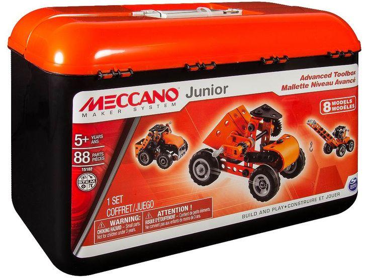 Meccano Junior Advanced Tool Box