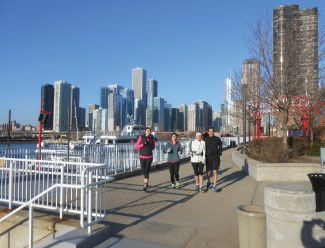 Chicago Running Tours | The slower we go, the more we show.