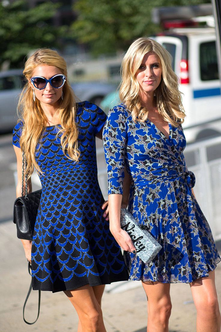 Paris Hilton and Nicky Hilton are two of the best street style looks spotted at #NYFW this weekend, see more:
