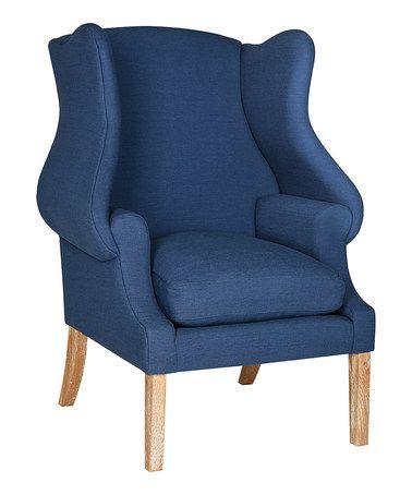 another great find on zulily steel blue draper club chair zulilyfinds