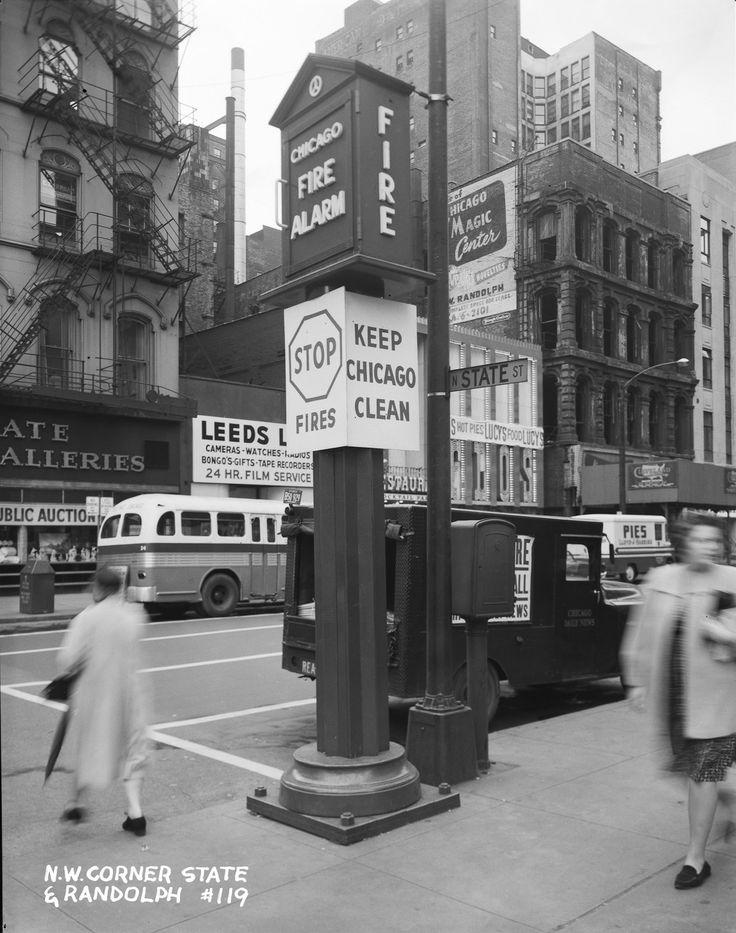 #State Street #Randolph Street #1960s