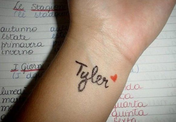 tatuajes pequeños con letras