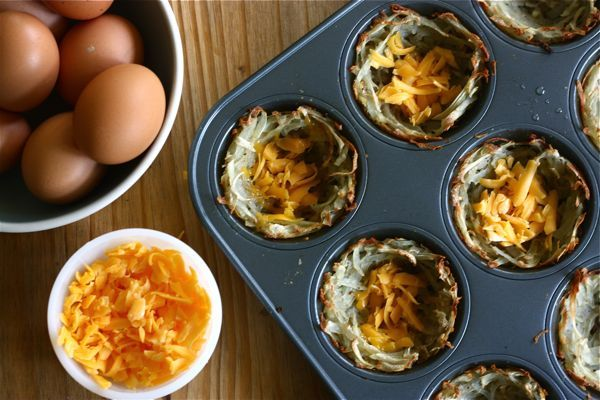 Try these egg and cheese nests for a family DIY Easter project you can ...