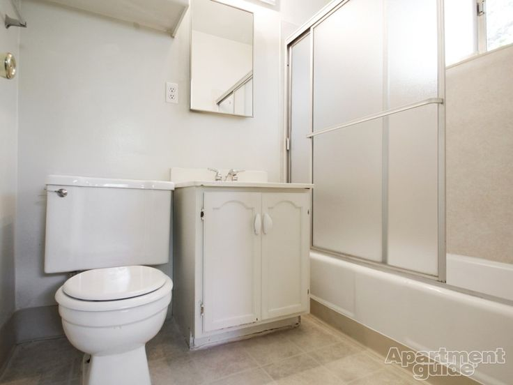 Historical Pasadena Apartment Building: Captivating Photo Pasadena Apartments With Master Bathroom Design Usign Bathroom Sink Cabinet Cream Bathroom Tile Also Sliding Glass Door Bathtube ~ surrealcoding.com Apartments Inspiration