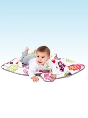 Doomoo Dream Cotton Tree Berry – Taupe | Nursery Furniture | Baby Accessories Ireland | Cribs.ie