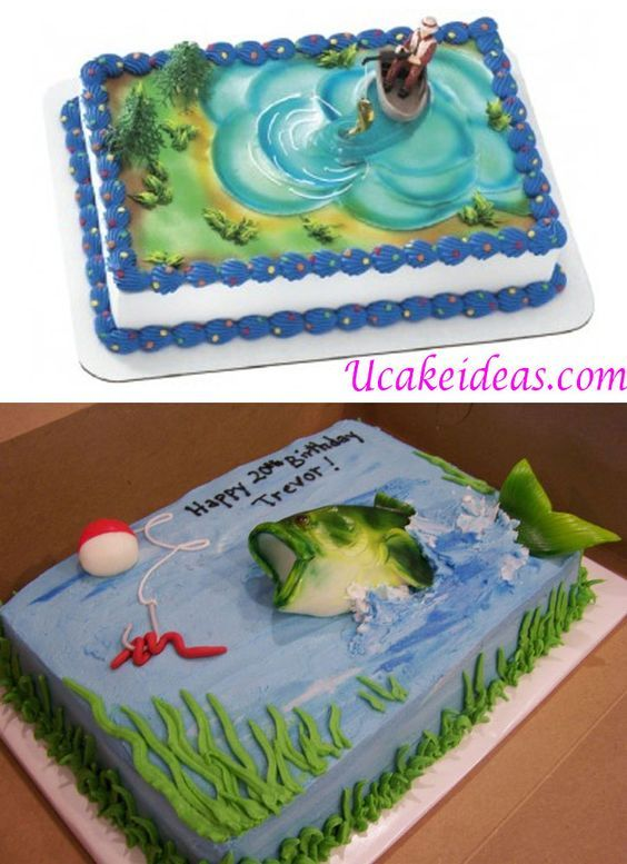 16 best Cake Fishing images on Pinterest
