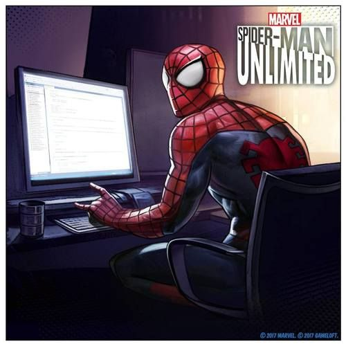 Help your friendly neighborhood Spideys complete it in the best way! Spider-Man Unlimited, October 2017