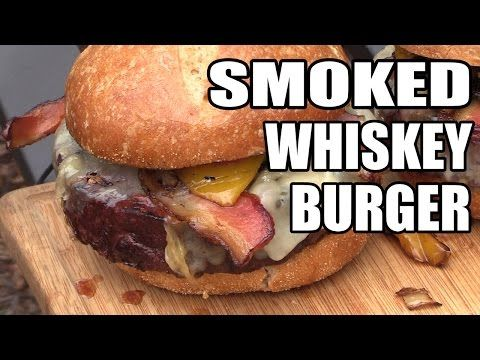 Smoked Whiskey CheeseBurgers | BBQ Pit Boys