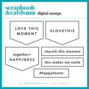 Scrapbook & Cards Today - freebie I think could work in some way with this month's kit