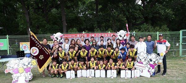 광양중앙초등학교, 제25회 여왕기 전국여자축구대회 우승