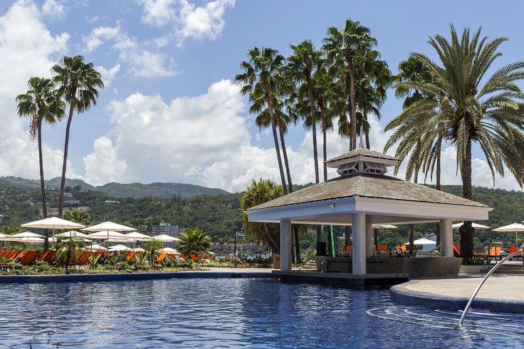 A scenic, all-inclusive honeymoon adventure at the new Moon Palace Jamaica Grande in Ocho Rios, Jamaica. #Travel #Honeymoons #WeddingIdeas