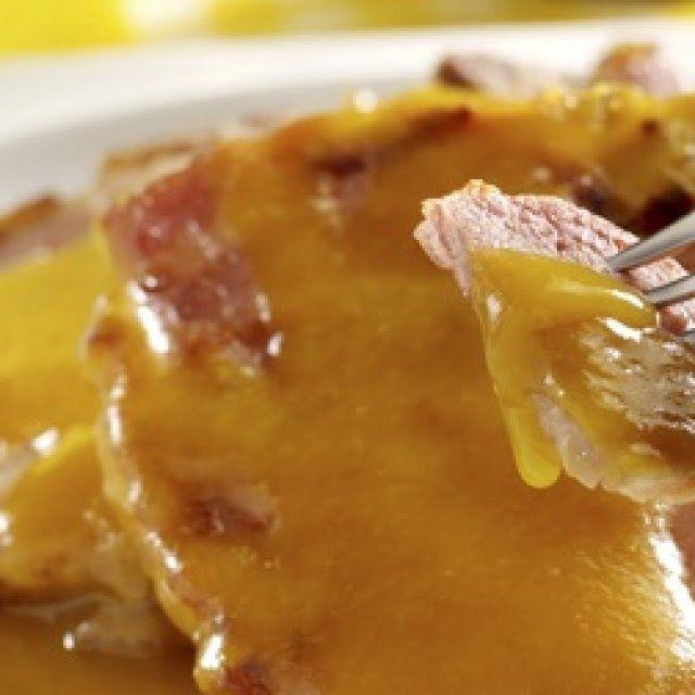 Chuletas en Salsa de Manzana