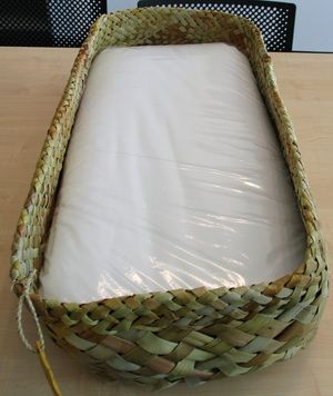 I want my future tamariki to have one of these!!!! Ngāi Tahu has announced it will provide each iwi newborn with a pēpi pack, including a wahakura (woven bassinet).