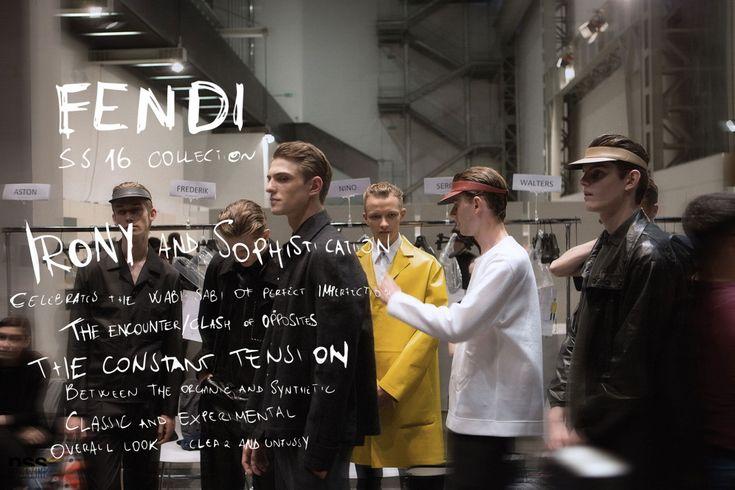 Fendi SS16 - Backstage