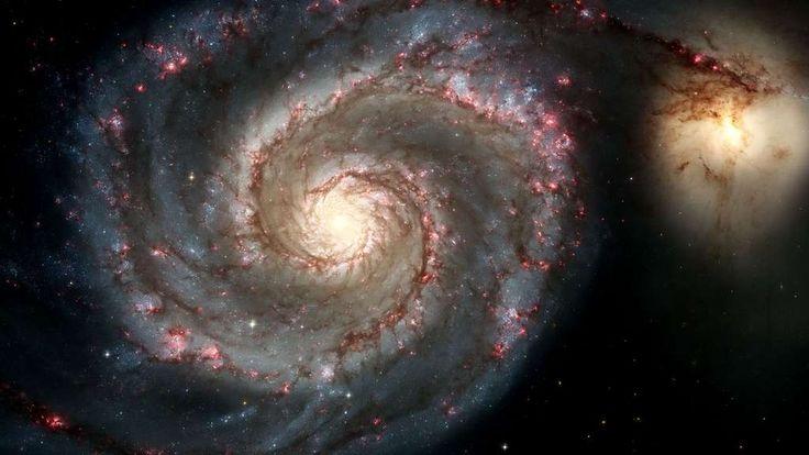 La galaxie du Tourbillon (M51), une spirale astronomique