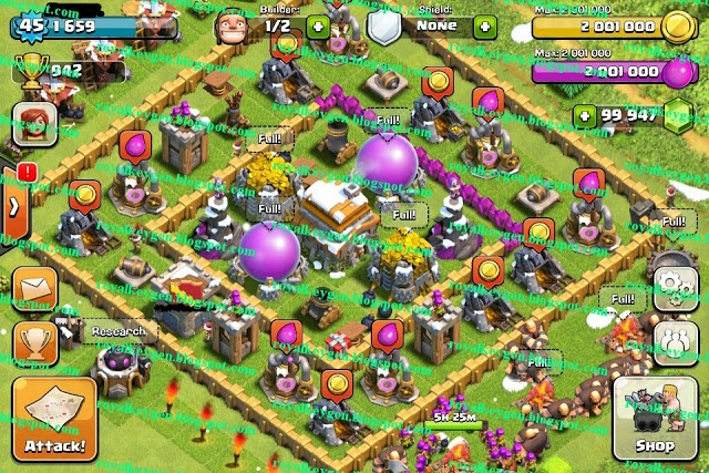 clash of clans hack gems generator free download