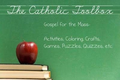 The Catholic Toolbox: Gospel for the Mass: 9/22/13- Luke 16:1-13 or Luke 16:10-13