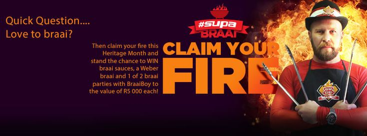 Win R5, 000 for your #SupaBraai