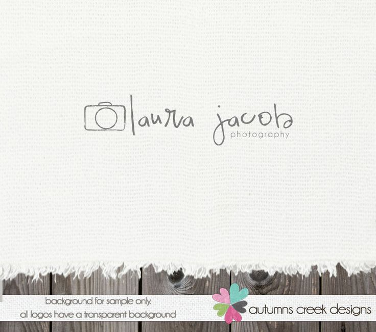 Photography Logos Premade Logo Design photography logos and watermarks Camera…