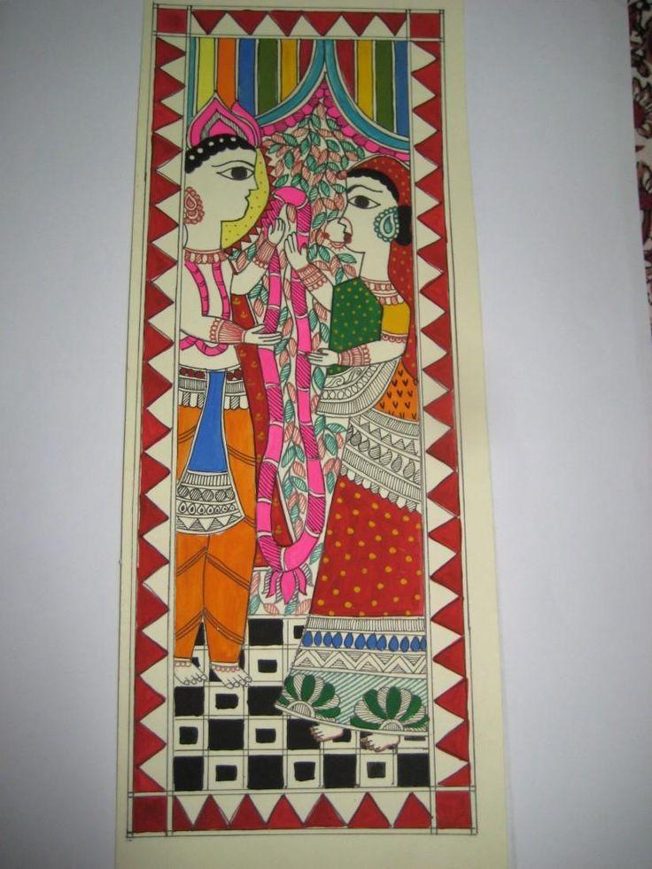 madhubani art - Painting by Suruchi Kumari in My Projects at touchtalent 19226