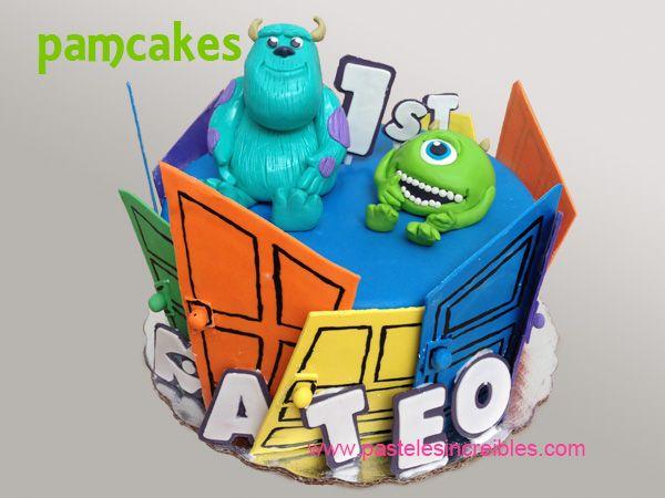 Pastel de Monsters Inc