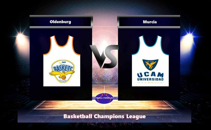 Oldenburg-Murcia Nov 1 2017 Basketball Champions League Can Oldenburg on the home ground beat the team Murcia. Oldenburg-Murcia Nov 1 2017. In the past 5 games on the platform Oldenburg scored 2 defeats and In the previous 4 matches on another's field Murcia scored 1 checkmates.   #Alberto_Martin #basketball #Basketball_Champions_League #bet #Brad_Oleson #Bryon_Allen #Clevin_Hannah #EWE_Baskets_Oldenburg #forecast #Karsten_Tadda #Kevin_Tumba #Marcos_Delia #Marko_Lukovic #