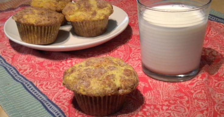 Kitchen Cactus: Snickerdoodle Muffins