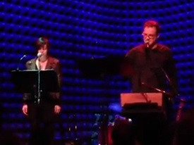 """Chatbot,"" with Krysta Rodriguez, live at the Mike Errico Holiday Show, Joe's Pub, NYC"