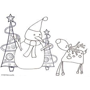 Best 25 sapin dessin ideas on pinterest dessin sapin - Coloriage de renne ...
