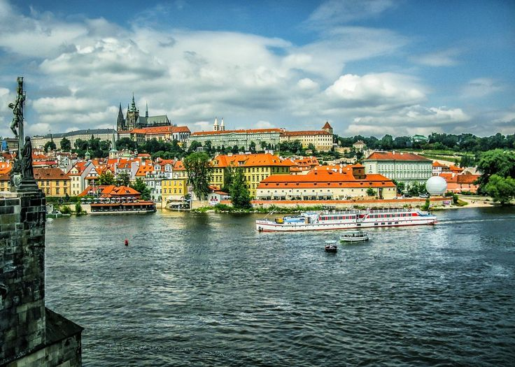 Prague Castle From Charles Bridge by Alistair Ford on 500px