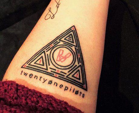 Twenty One Pilots Tattoo 7