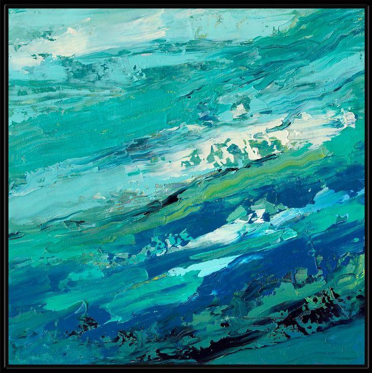 "Choppy Water - 42"" x 42"" Wall Art WL-31484-S"
