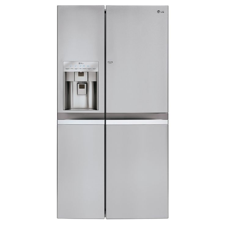 "LSC22991ST LG Appliances 36"" - 21.5 Cu. Ft. Counter-Depth Side-by-Side Refrigerator with Door-in-Door™ Stainless - Airport Home Appliance"