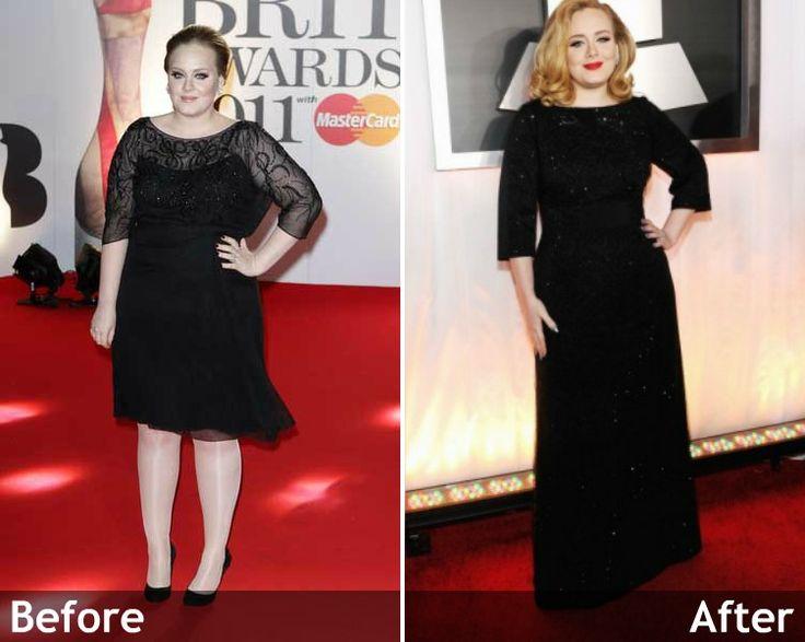 even adele looks better thin. love her regardless | Get in