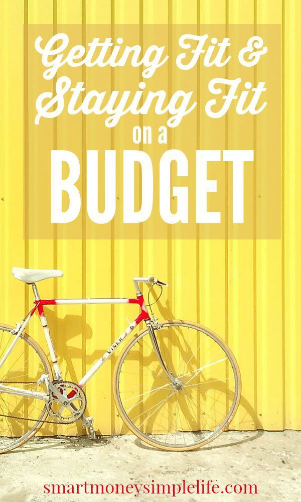 Getting Fit and Staying Fit on a Budget   Finding ways of getting fit and staying that way without spending a fortune is my latest challenge. If you're also looking for ways to workout that don't cost a fortune you might enjoy this list of frugal fitness ideas, too.#GetFitOnABudget #FrugalFitnessIdeas - Smart Money, Simple Life