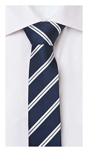 75 kr. SPAR 65% Small Tie from Fabio Farini in blue 6cm Width Fabio Farini…