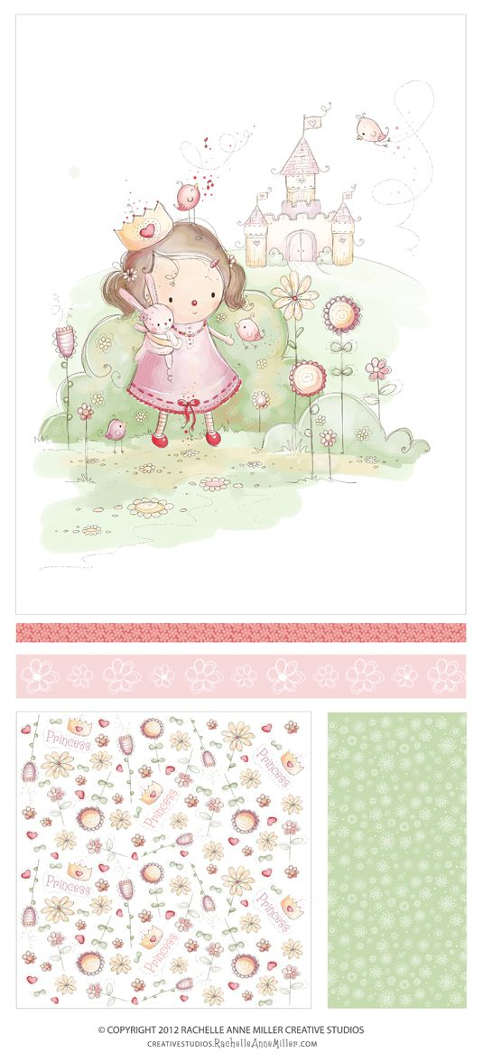 Princess in a Castle by Rachelle Anne Miller