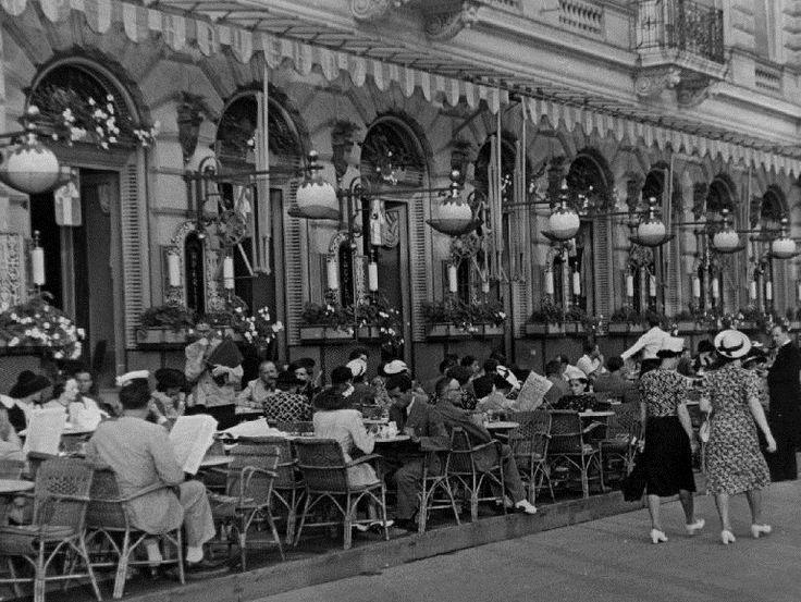 dunakorzó, budapest, 1930-as évek