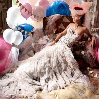 Whimsical Fantasy Wedding Dresses