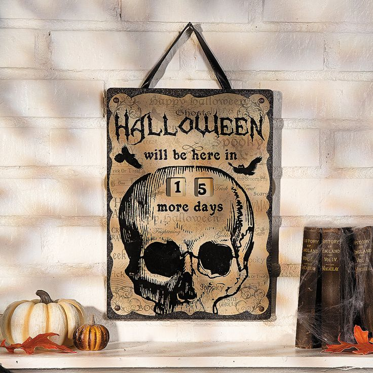 Halloween Countdown Calendar - TerrysVillage.com