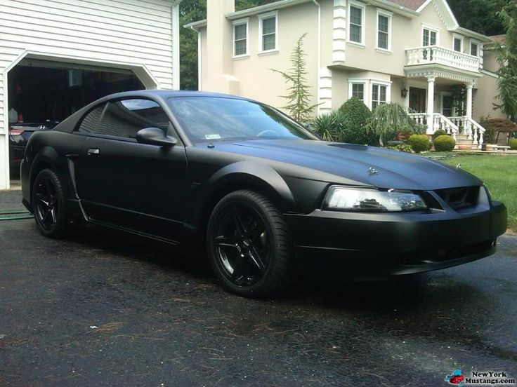 2000 mustang gt flat black | cars, trucks & bikes | pinterest