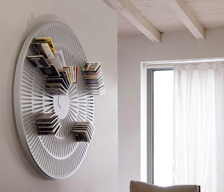 Great cd rack idea!