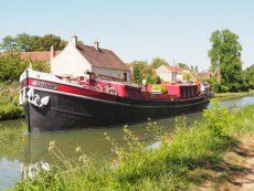 Boats for sale France, boats for sale, used boat sales, Barges For Sale Traditionnal Luxemotor barge - converted - Apollo Duck