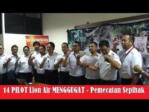 Pilot Lion Air Dituduh Hasut Mogok Kerja ! 14 Pilot Dipecat ! PILOT Meng...