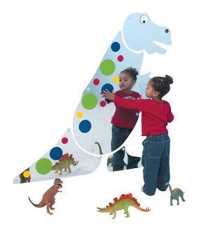 Children's Factory Friendly T-Rex Mirror